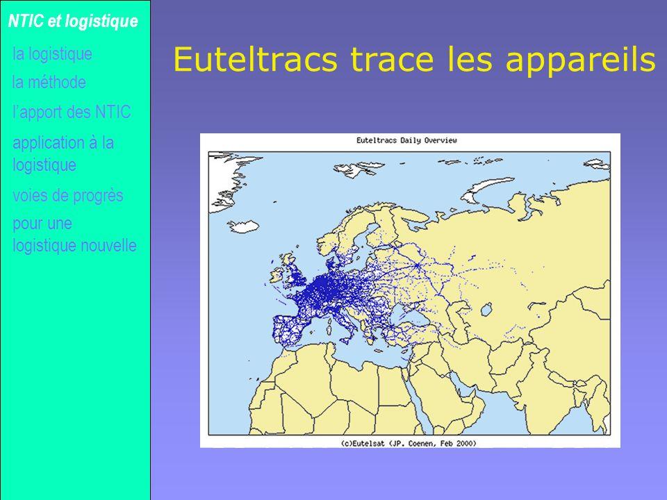 Euteltracs trace les appareils
