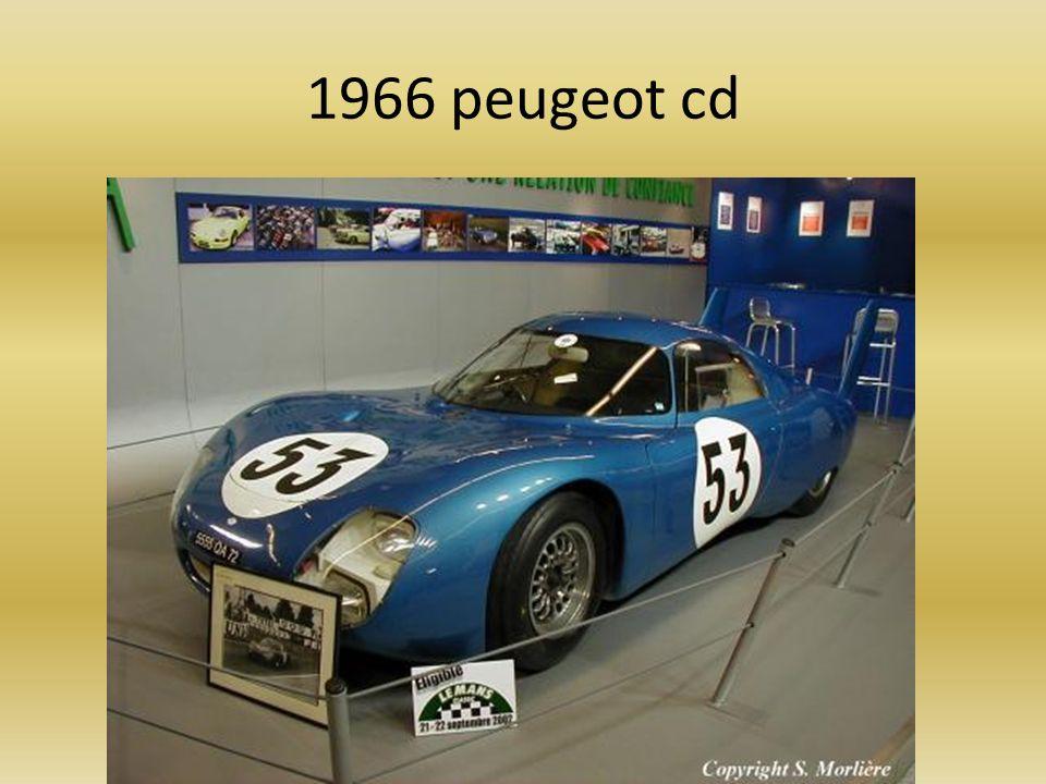 1966 peugeot cd