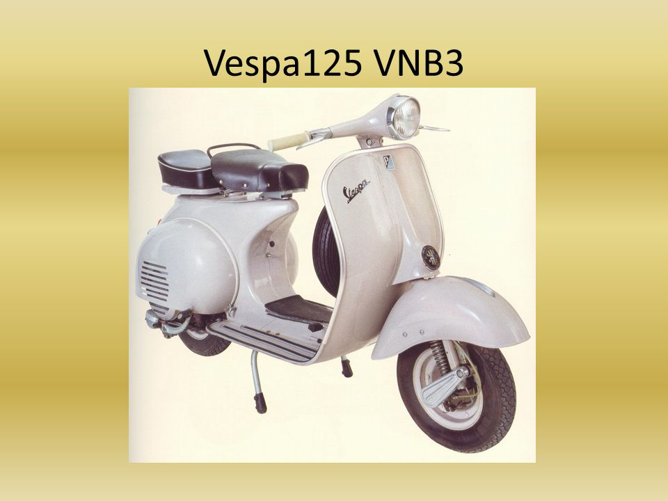 Vespa125 VNB3