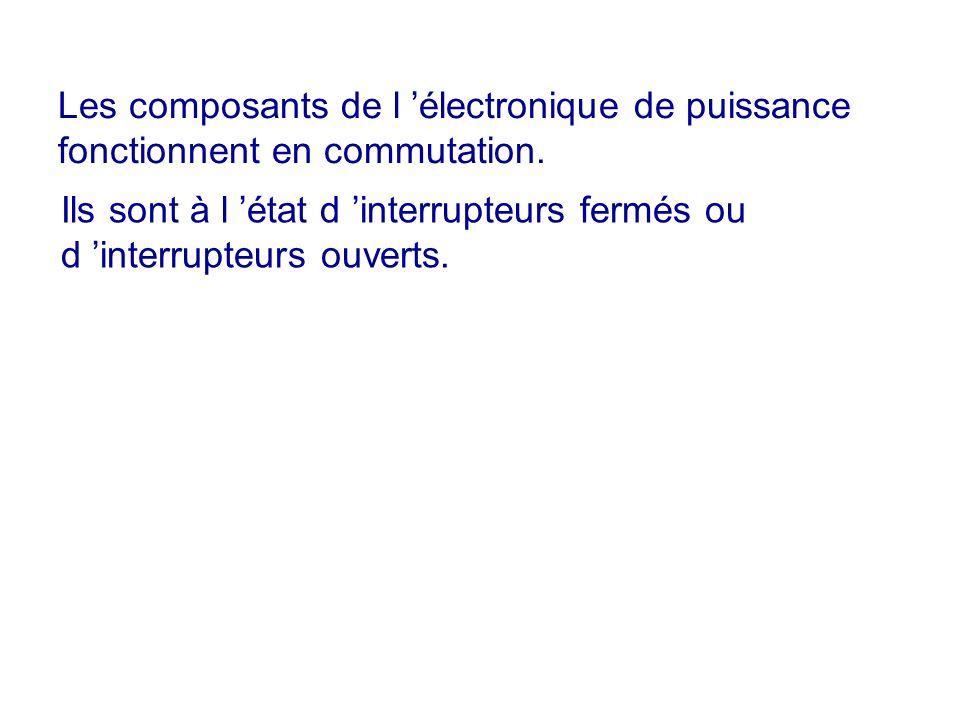 Les composants de l 'électronique de puissance