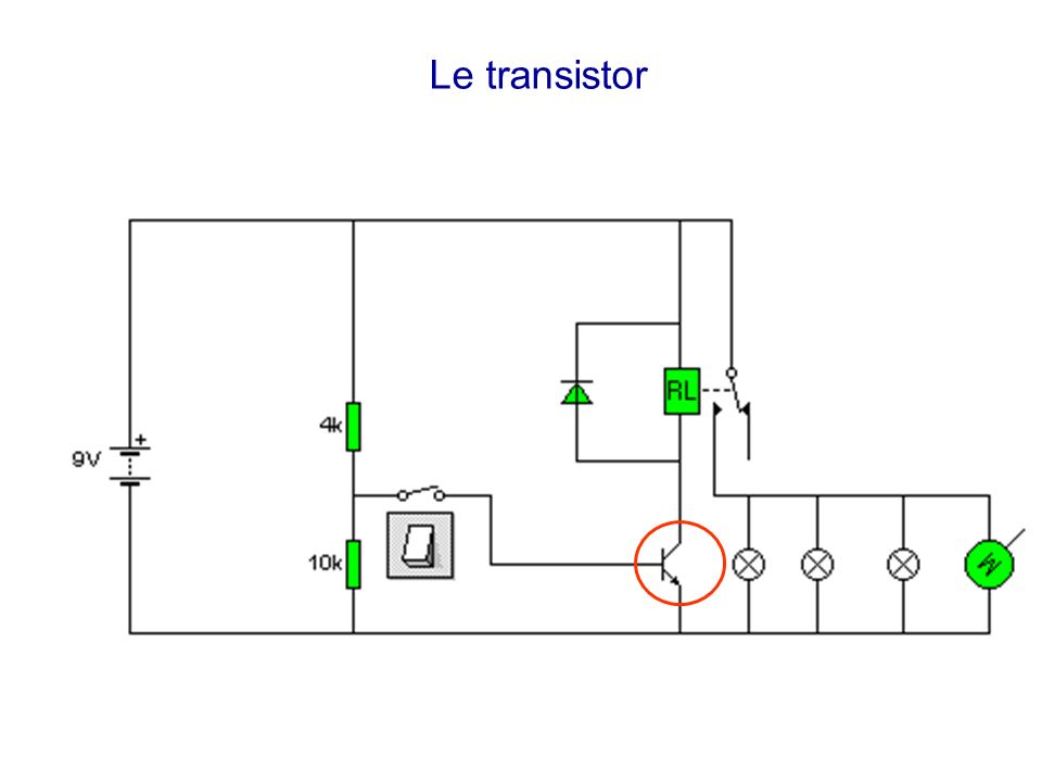 Electronique de puissance ppt t l charger for Le transistor