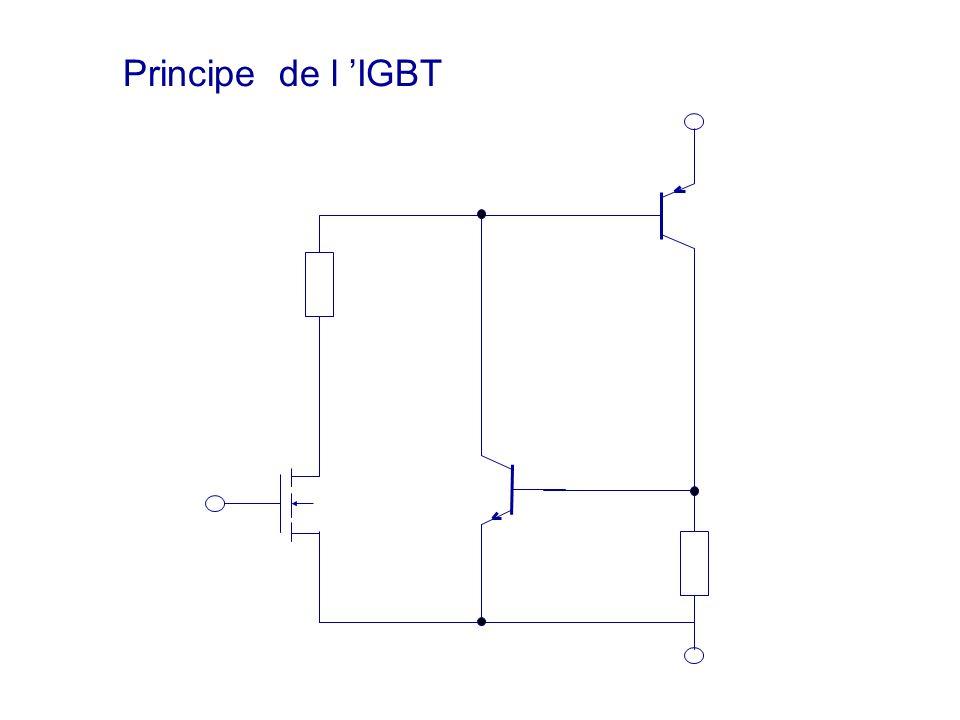 Principe de l 'IGBT