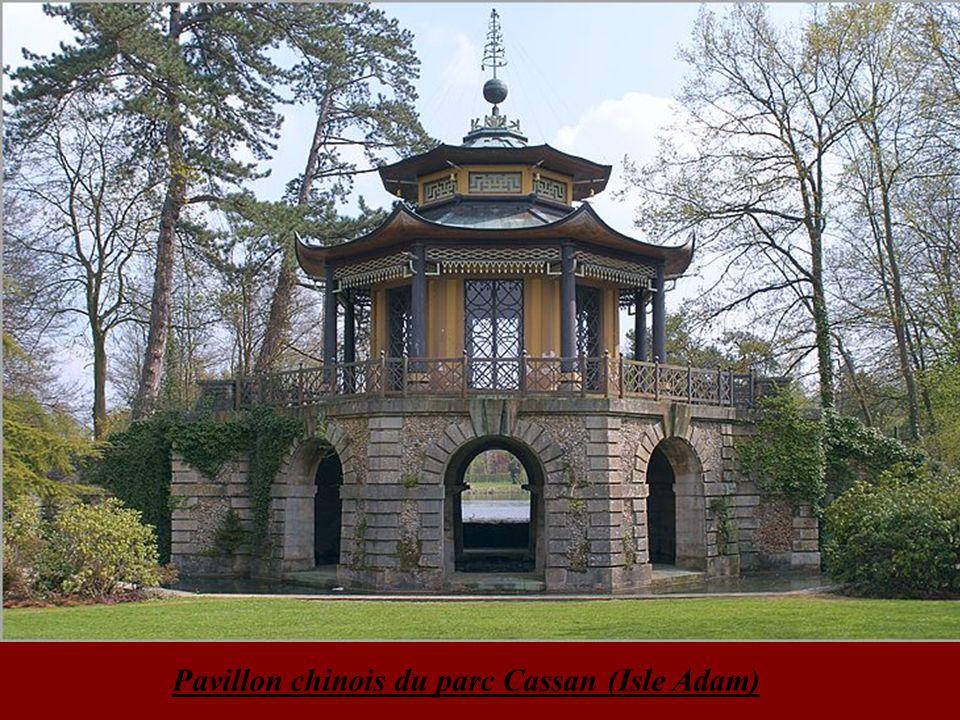 Pavillon chinois du parc Cassan (Isle Adam)