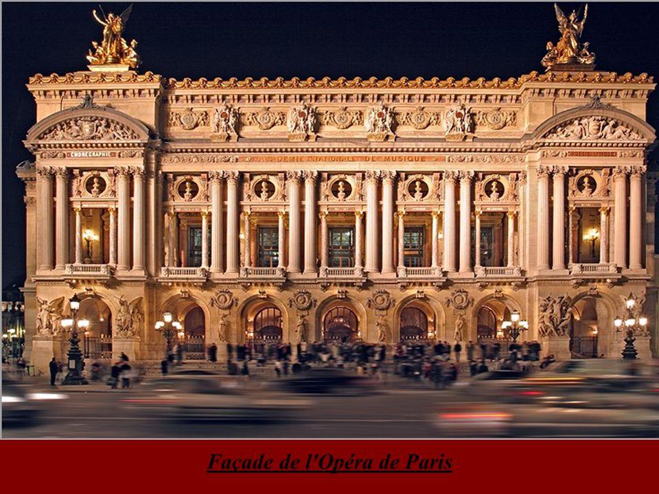 Façade de l Opéra de Paris