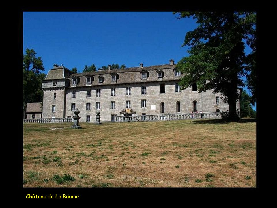 Château de La Baume