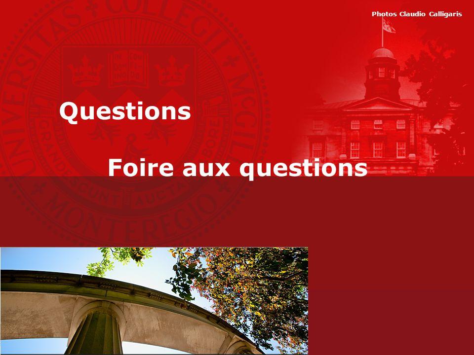 Questions Foire aux questions