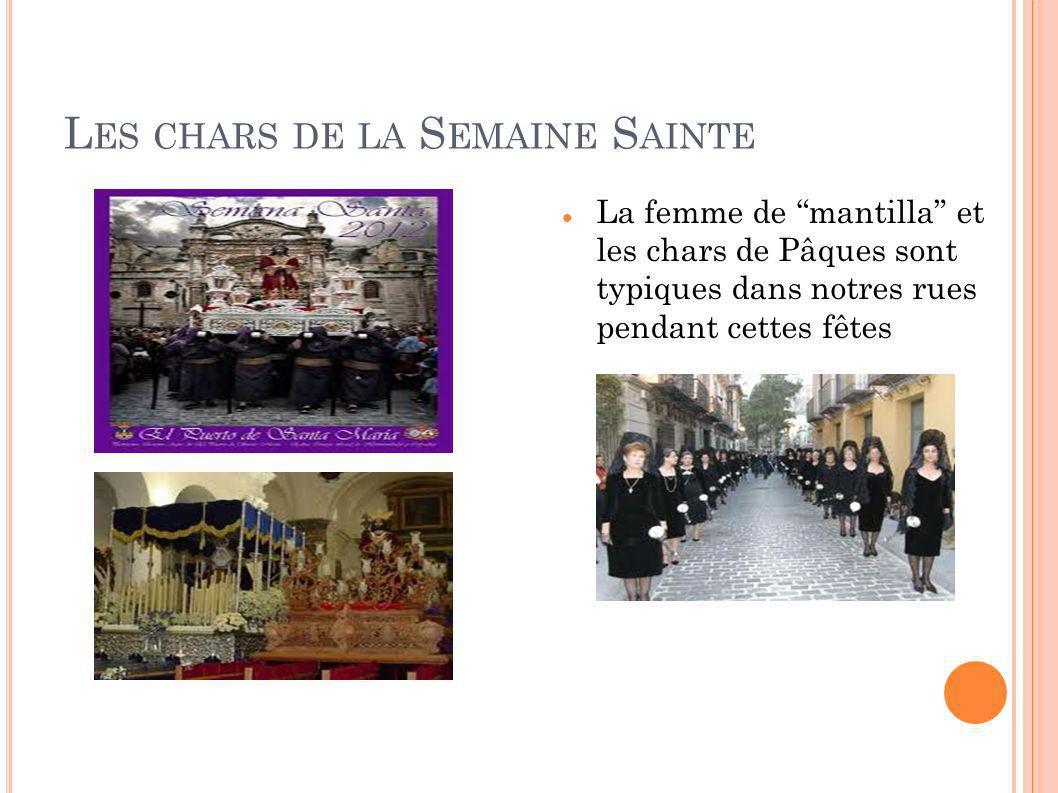 Les chars de la Semaine Sainte