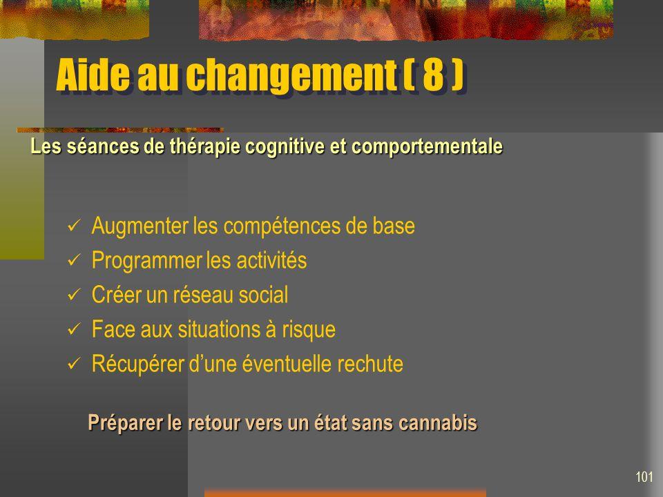 Aide au changement ( 8 ) Augmenter les compétences de base