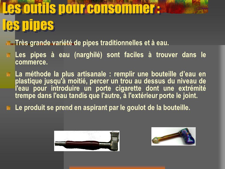 Les outils pour consommer : les pipes