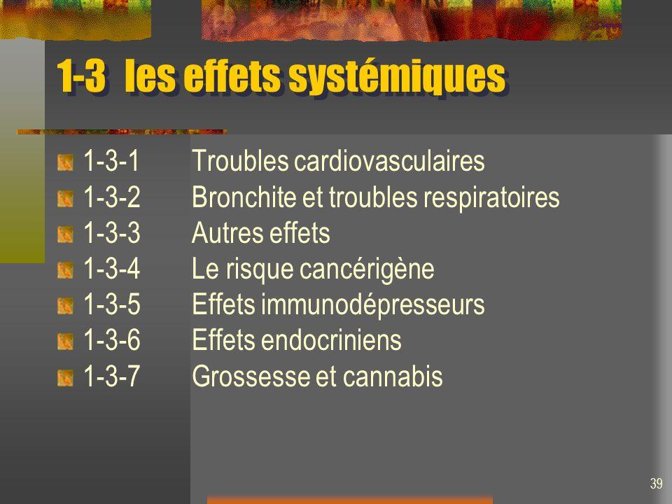 1-3 les effets systémiques
