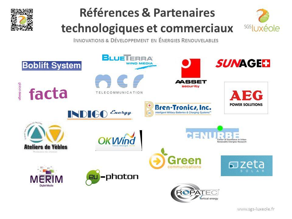 Références & Partenaires technologiques et commerciaux
