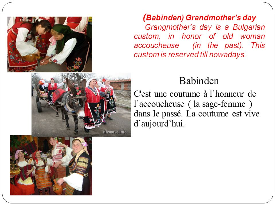 (Babinden) Grandmother's day