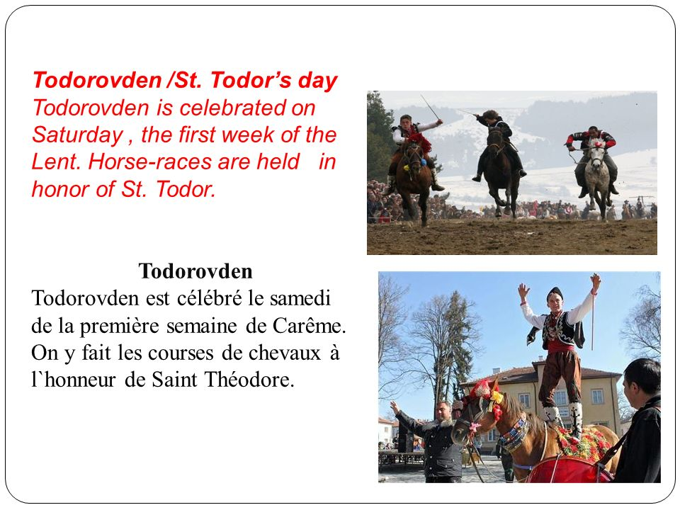 Todorovden /St. Todor's day