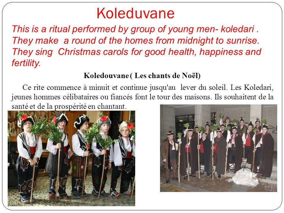 Koledouvane ( Les chants de Noël)