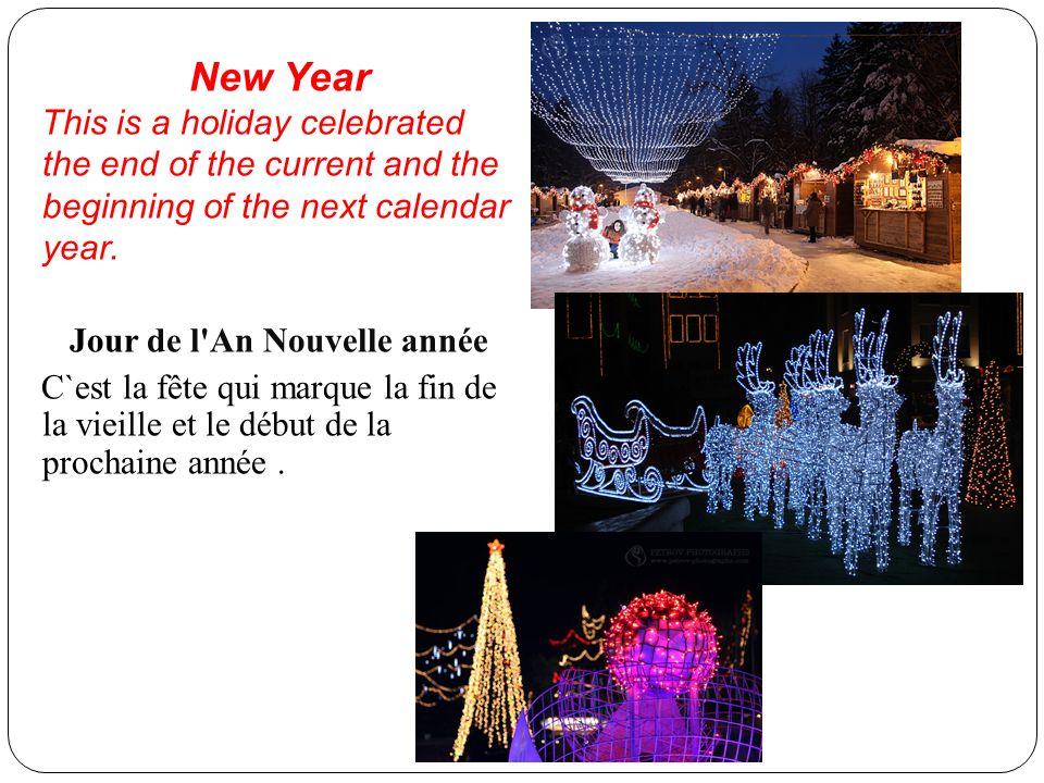 Jour de l An Nouvelle année