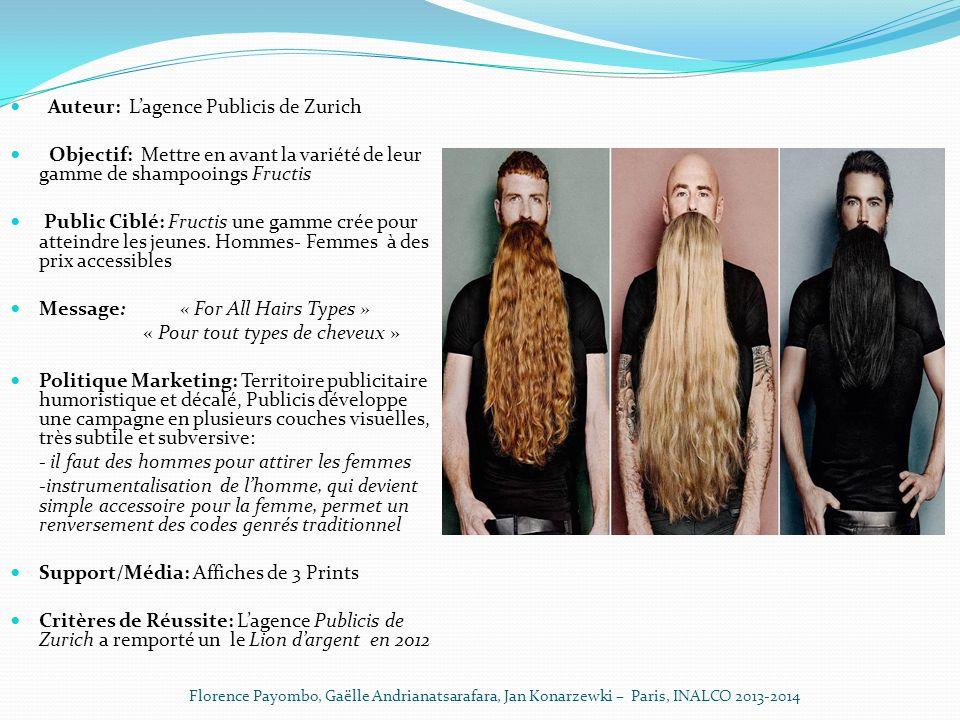 « Pour tout types de cheveux »