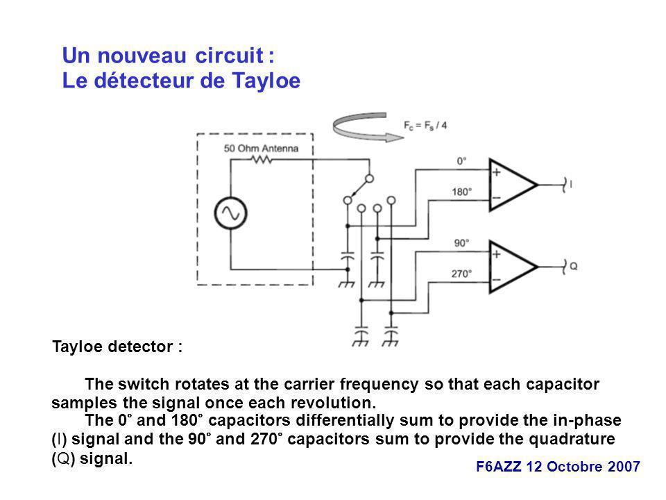Un nouveau circuit : Le détecteur de Tayloe Tayloe detector :