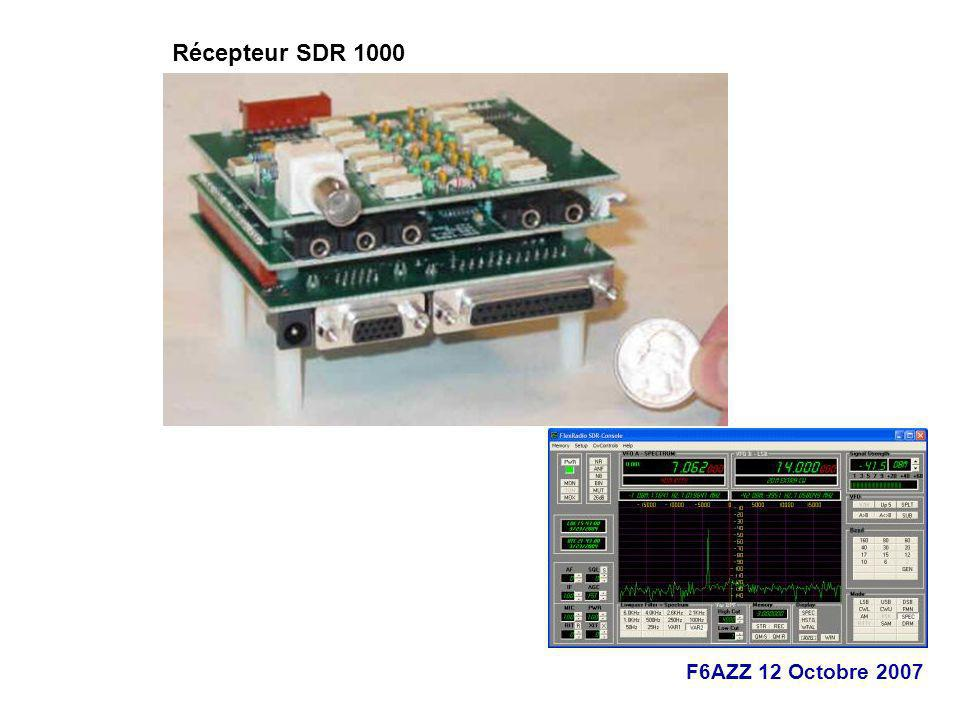 Récepteur SDR 1000
