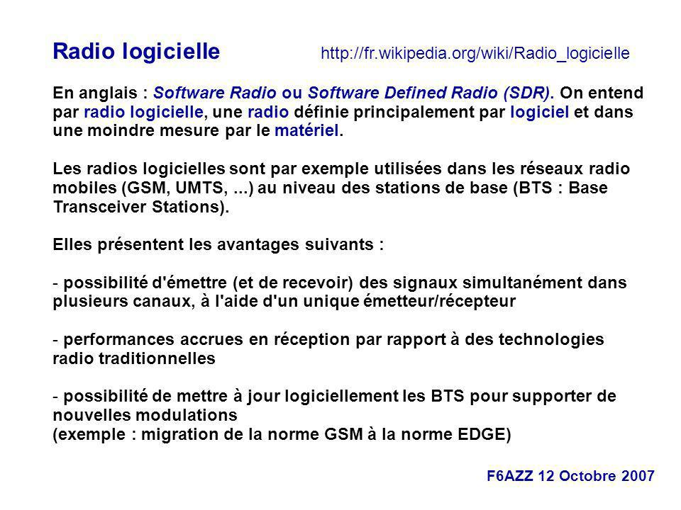 Radio logicielle http://fr.wikipedia.org/wiki/Radio_logicielle