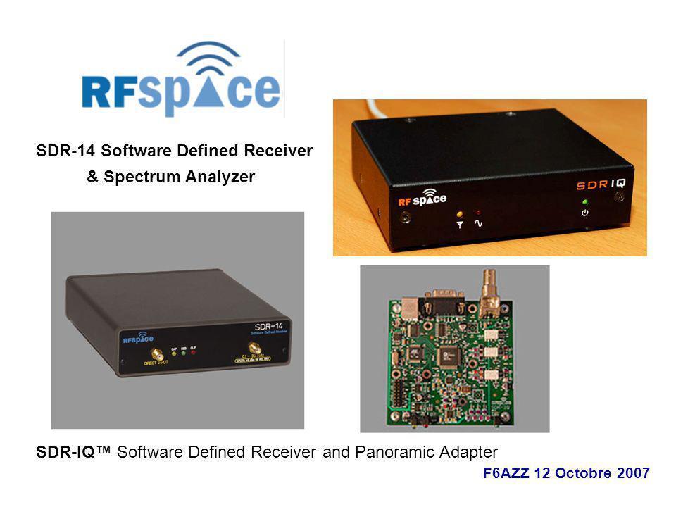 SDR-14 Software Defined Receiver