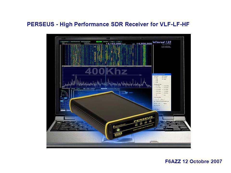 PERSEUS - High Performance SDR Receiver for VLF-LF-HF