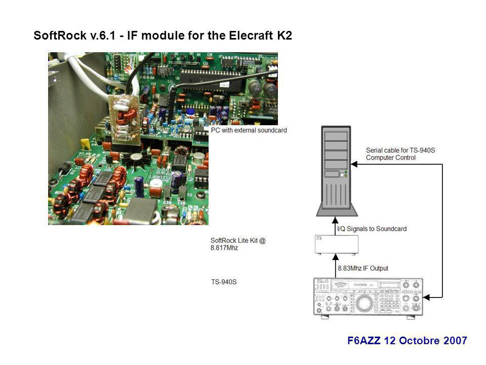 SoftRock v.6.1 - IF module for the Elecraft K2