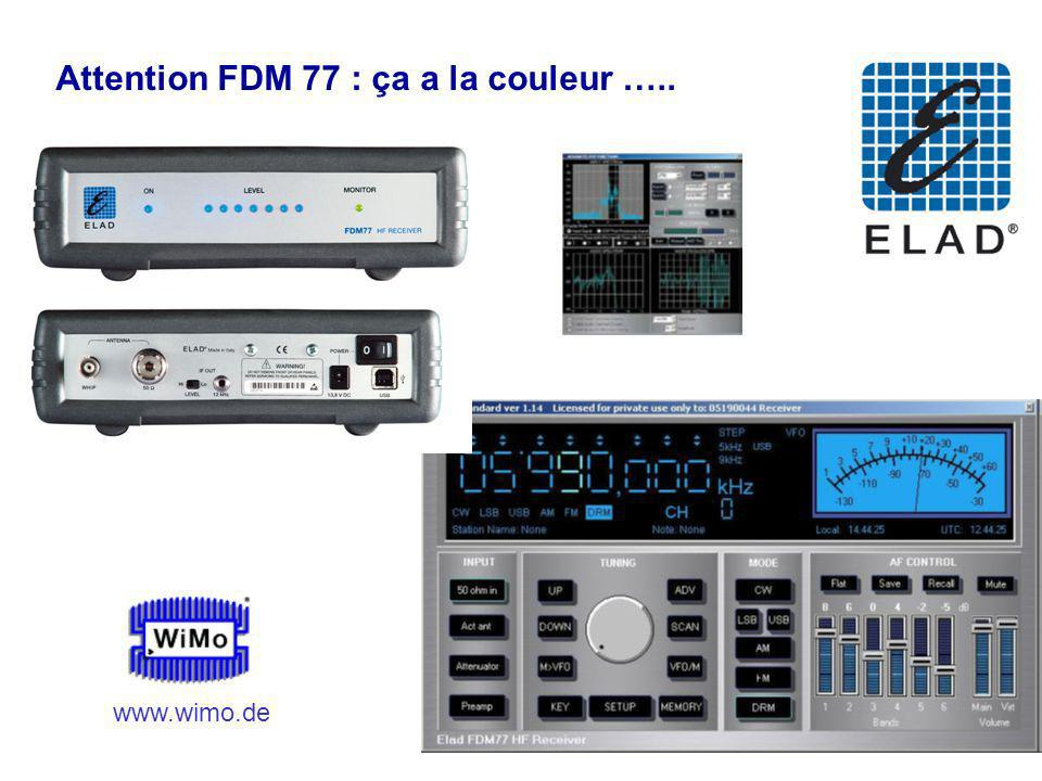 Attention FDM 77 : ça a la couleur …..