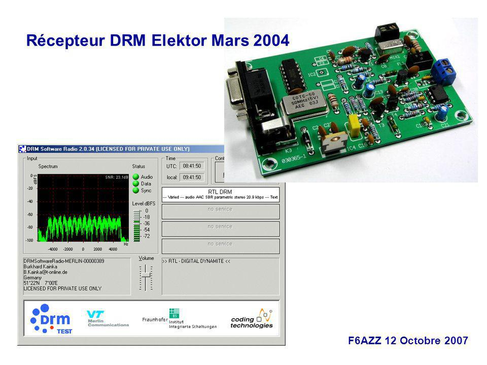 Récepteur DRM Elektor Mars 2004