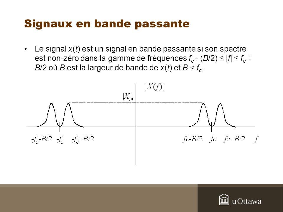 Signaux en bande passante