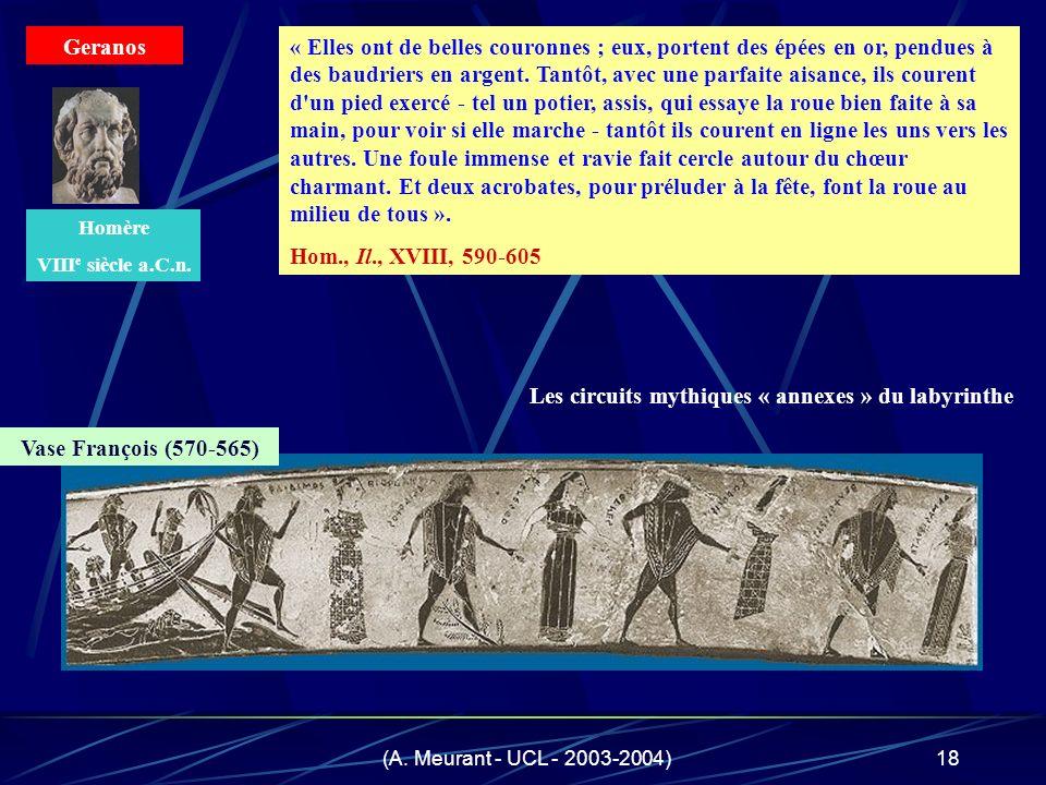 Les circuits mythiques « annexes » du labyrinthe