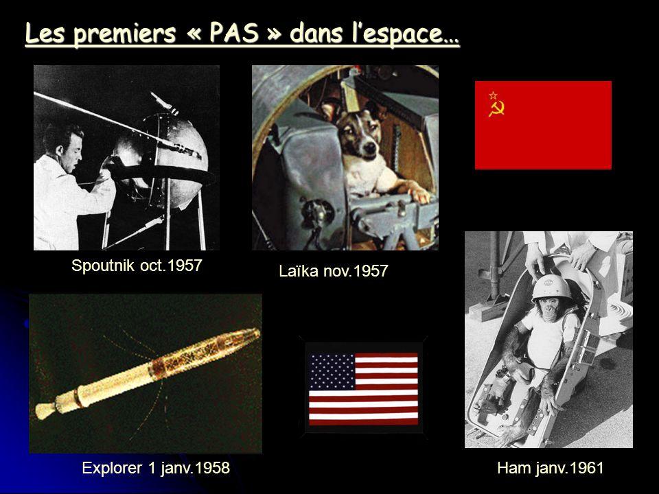 Les premiers « PAS » dans l'espace…