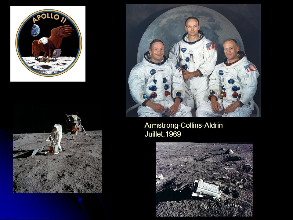 Armstrong-Collins-Aldrin Juillet.1969