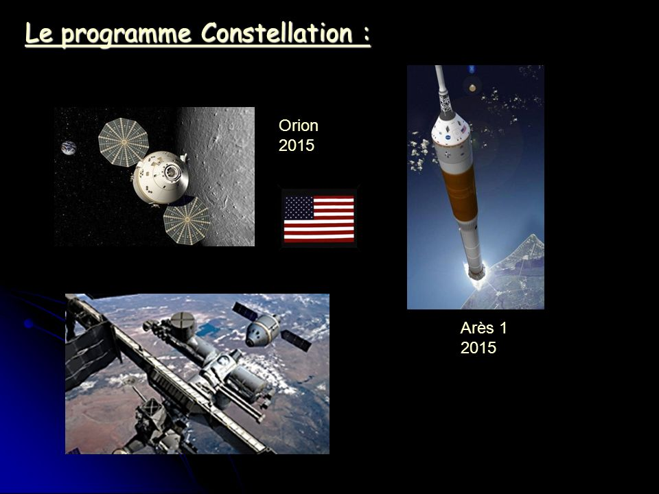 Le programme Constellation :
