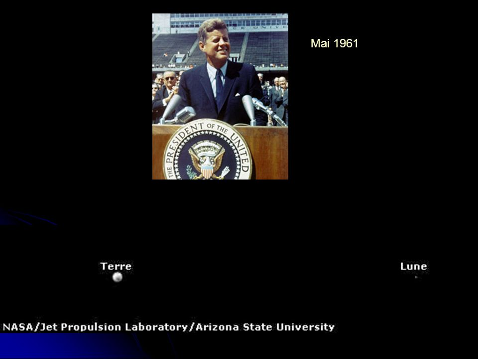 Mai 1961 Les USA ne peuvent laisser les communistes dominer