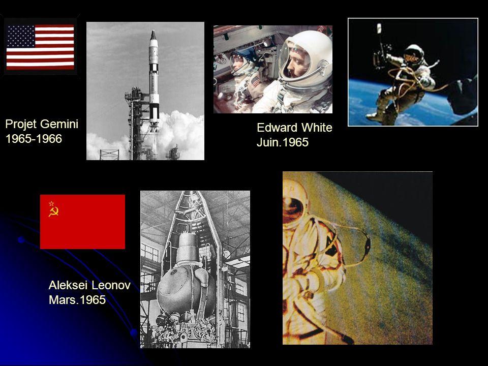 Projet Gemini Edward White 1965-1966 Juin.1965 Aleksei Leonov