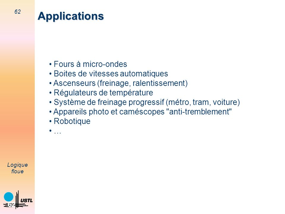Applications Fours à micro-ondes Boites de vitesses automatiques