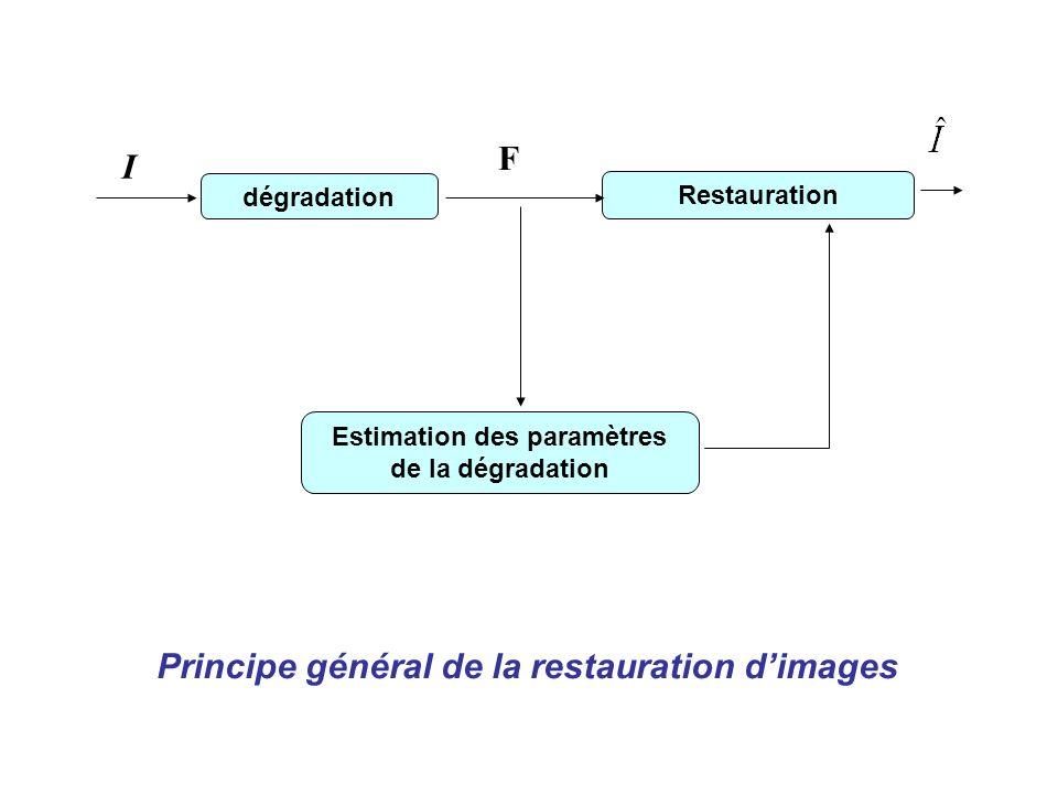 Estimation des paramètres de la dégradation