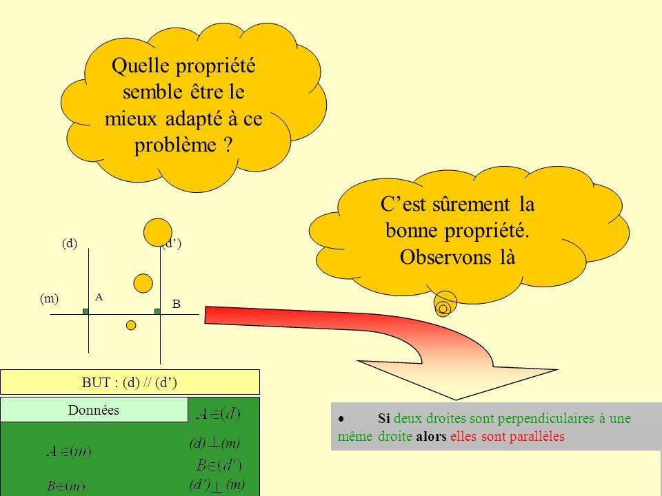 Comment démontrer que deux droites sont parallèles