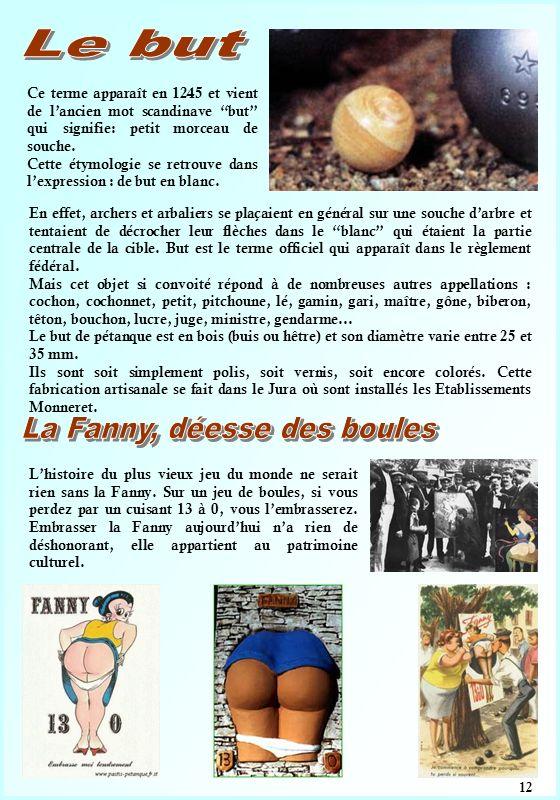 La Fanny, déesse des boules