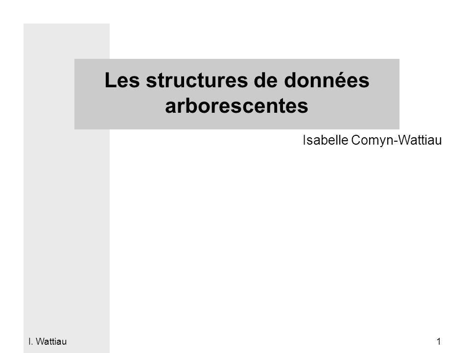 Les structures de données arborescentes