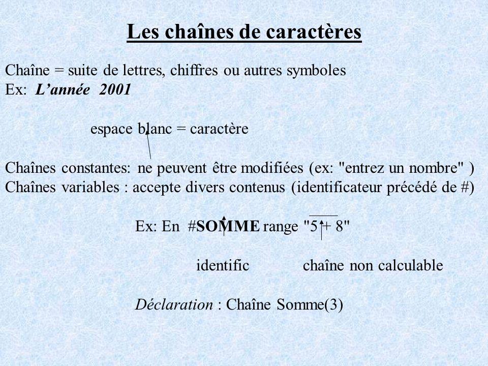 cours chaine de caractere en c pdf
