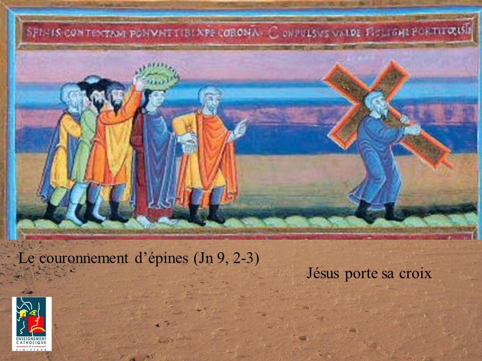 Le couronnement d'épines (Jn 9, 2-3)