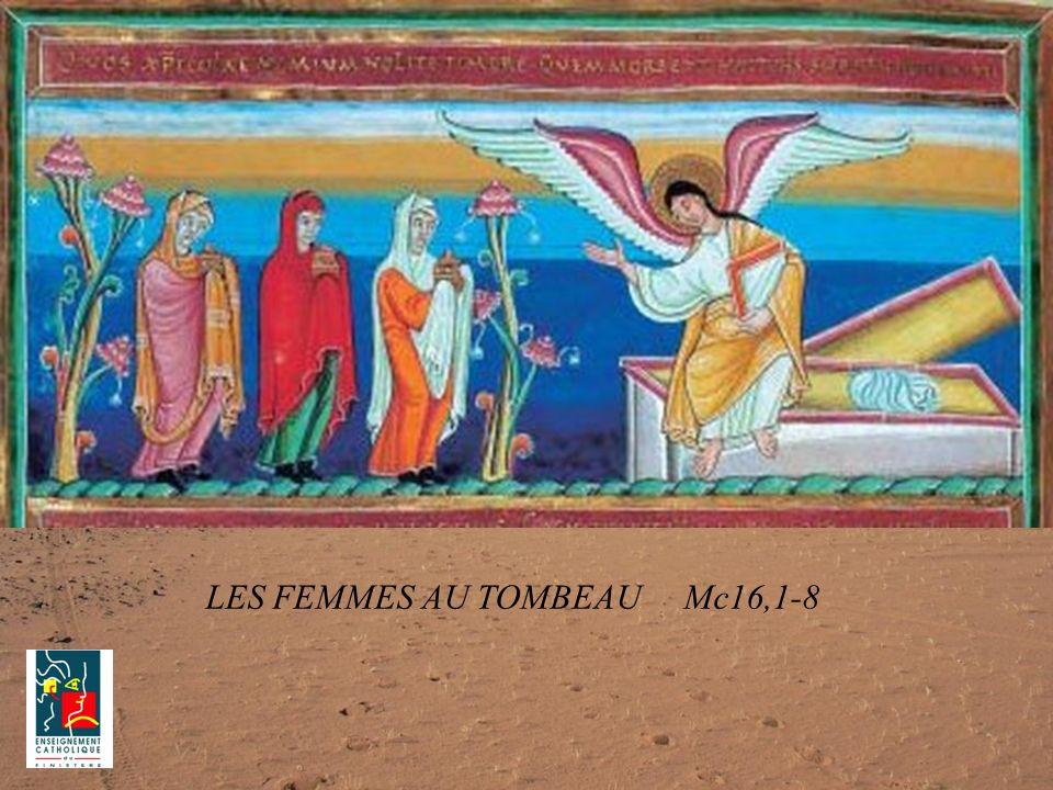 LES FEMMES AU TOMBEAU Mc16,1-8