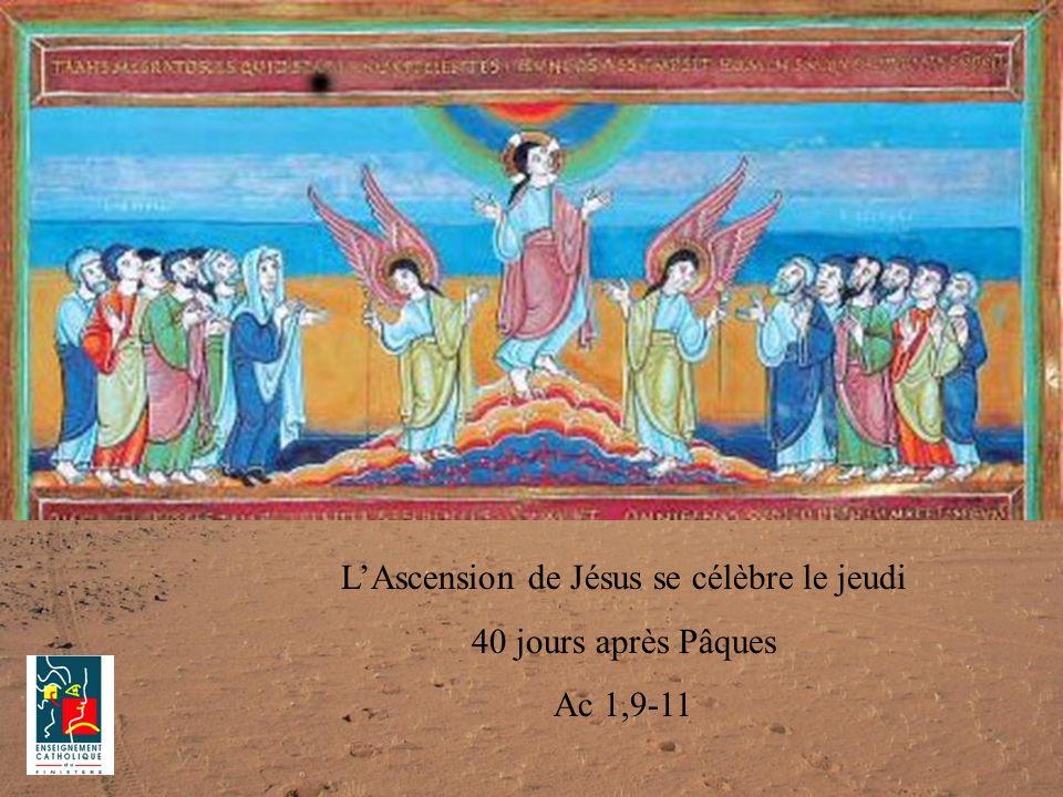 L'Ascension de Jésus se célèbre le jeudi