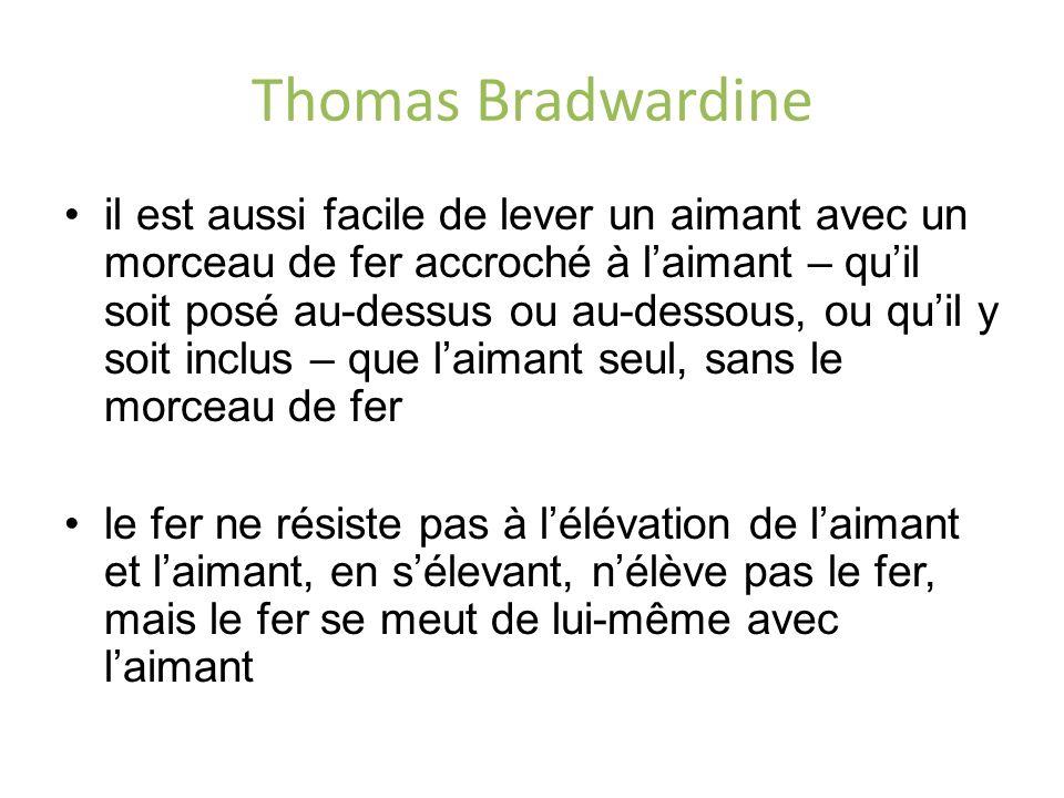 Thomas Bradwardine