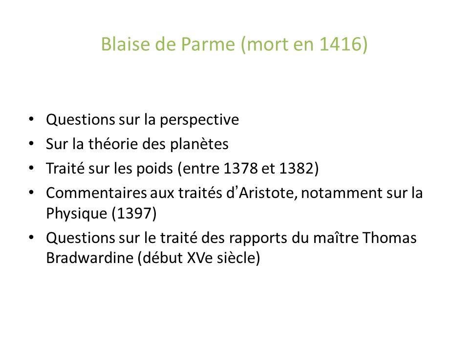 Blaise de Parme (mort en 1416)