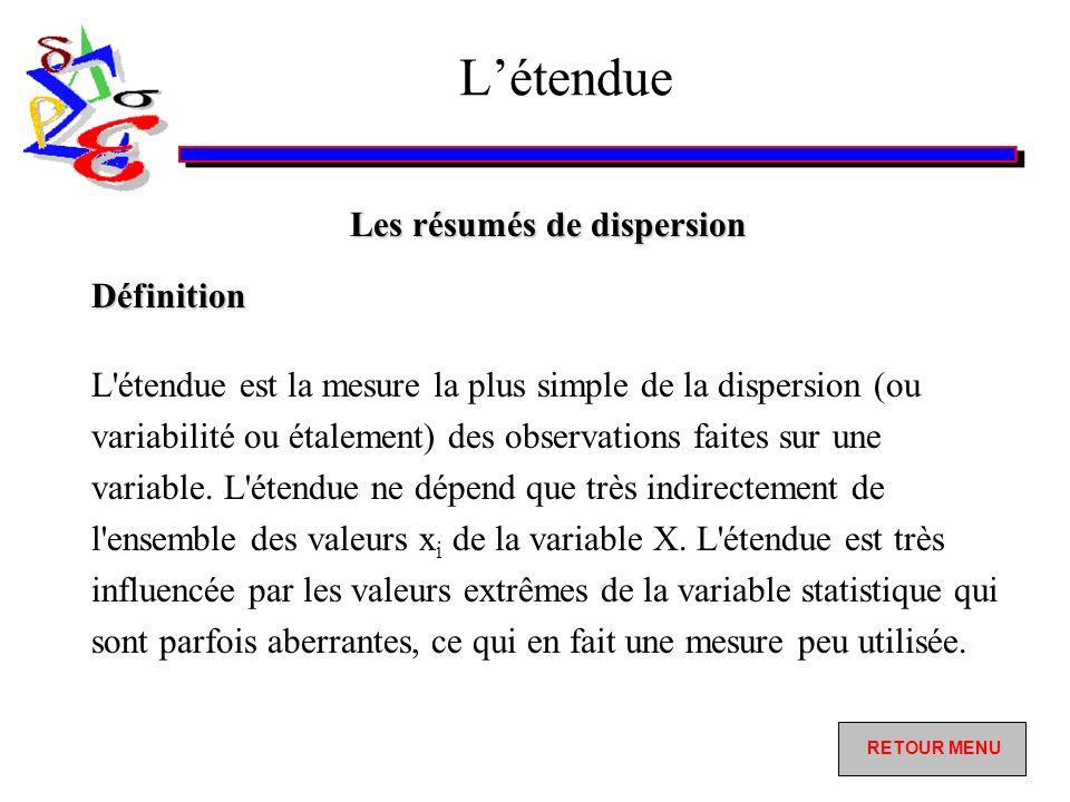 COURS STATISTIQUE DESCRIPTIVE - DESCRIPTIVE DEFINITIONS