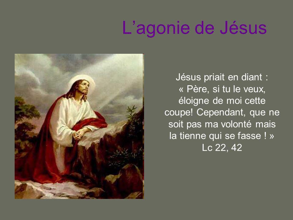 L'agonie de Jésus