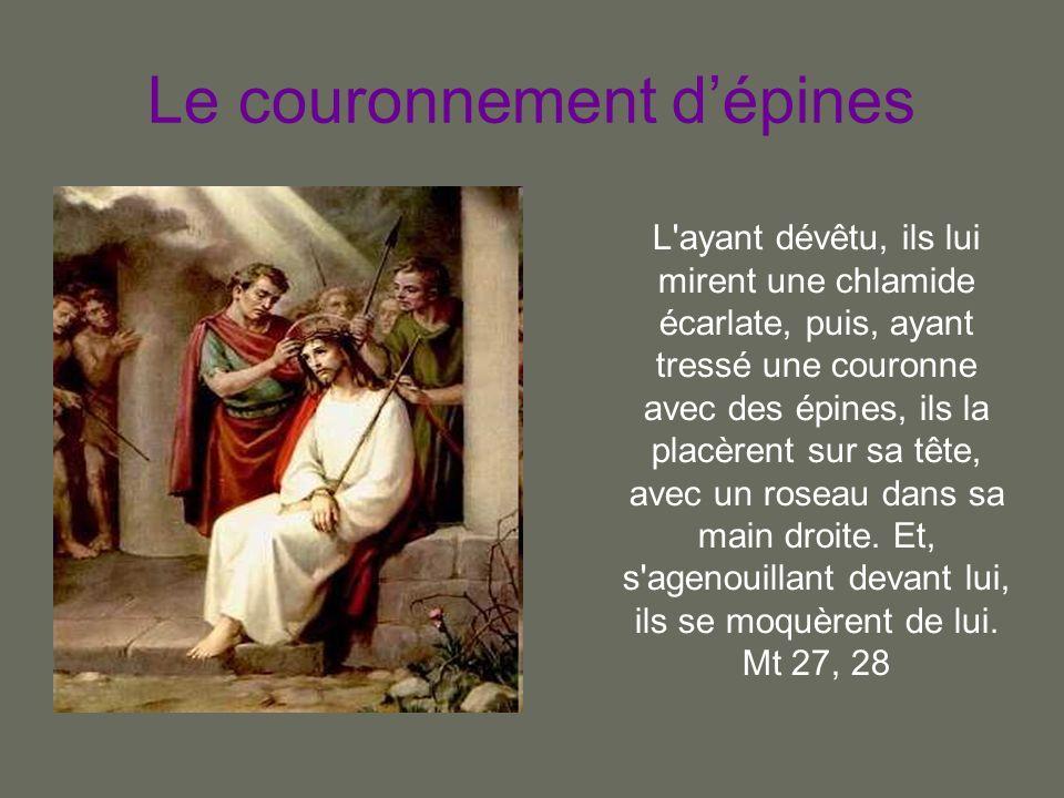 Le couronnement d'épines