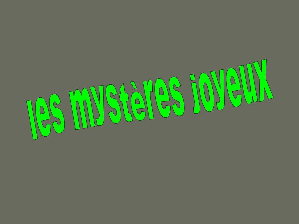 les mystères joyeux